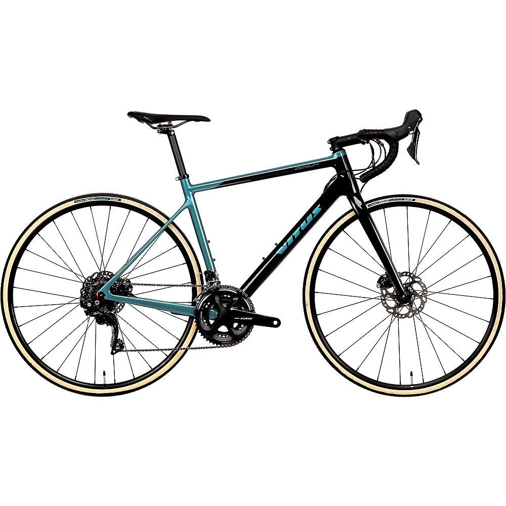 Bici da strada Vitus Zenium CR (105) 2020 - Carbon-Teal