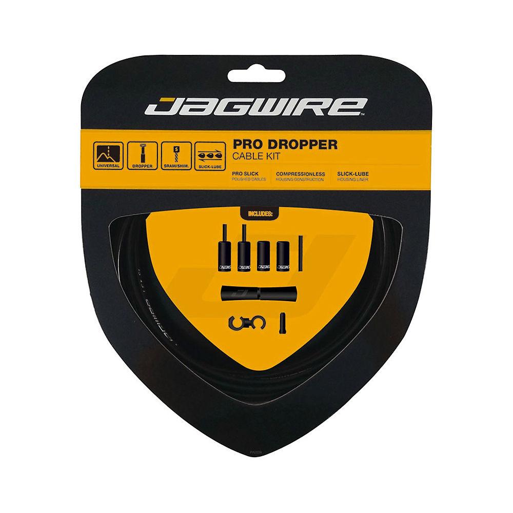 Jagwire Pro Dropper Upgrade Cable Kit - Negro, Negro