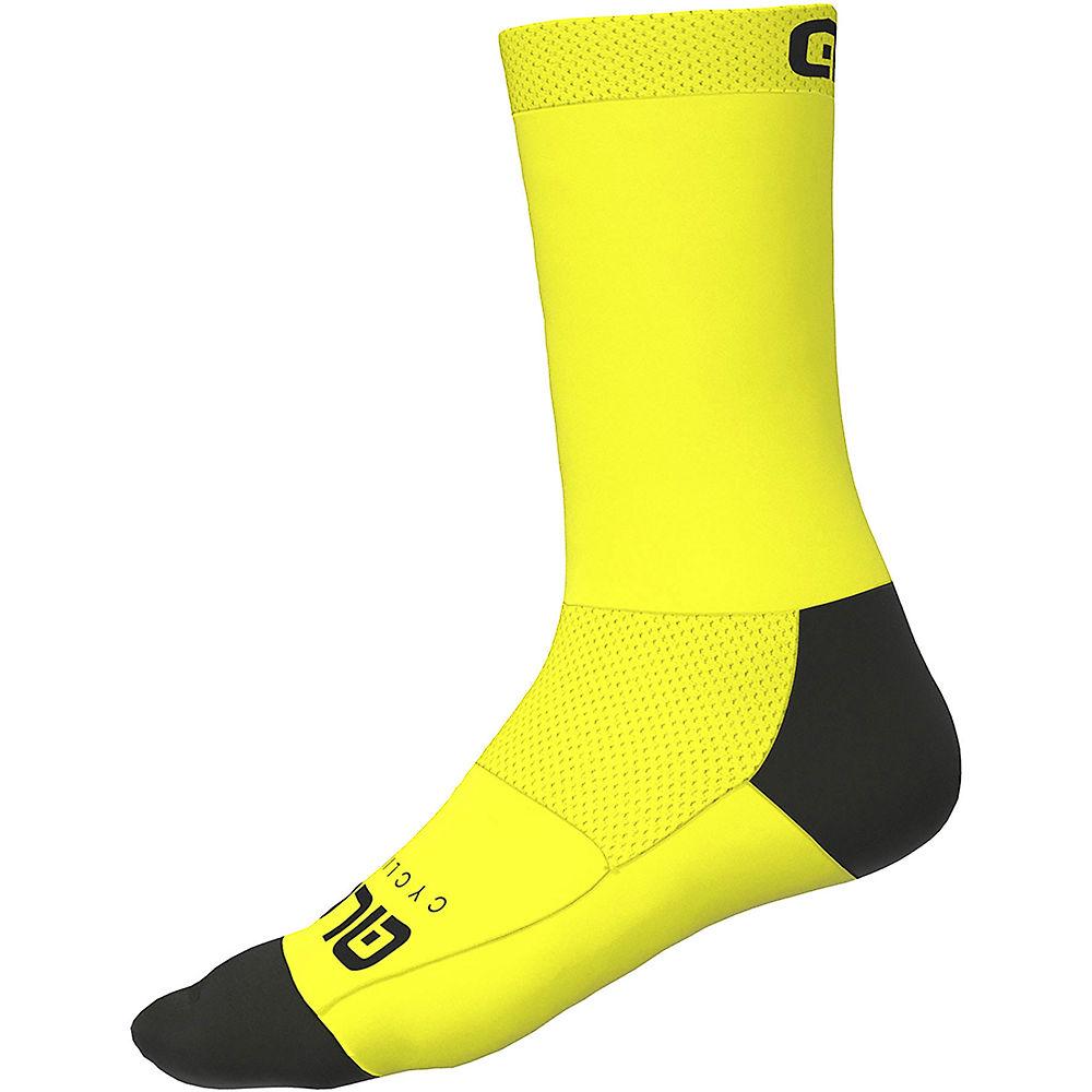 Ale Team Socks - Fluiro Yellow  Fluiro Yellow
