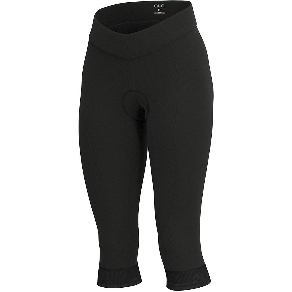 Ale Womens Solid Classico 3-4 Tights - Black-grey - Xl  Black-grey