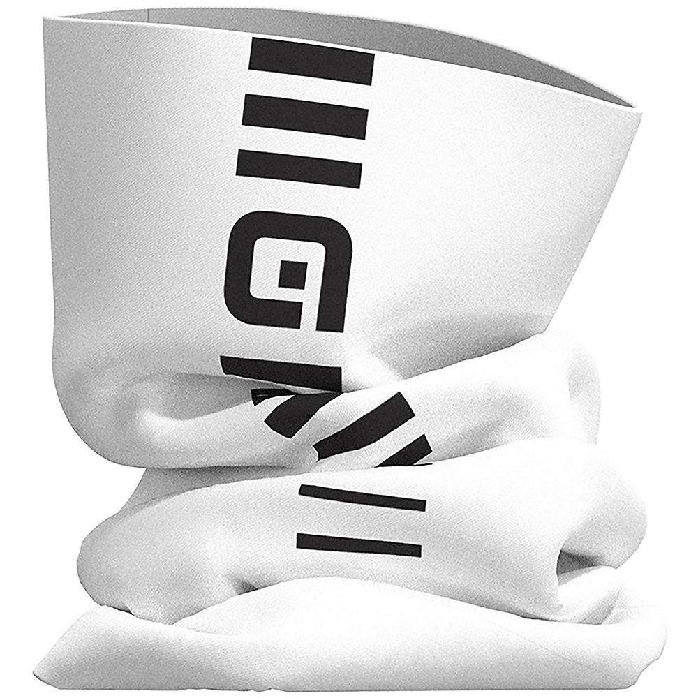 Alé Identity Tubular Headgear - White-Black - One Size, White-Black