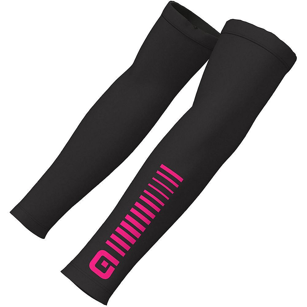 Ale Sunselect Arm Warmers - Black-fluro Pink - Xs  Black-fluro Pink