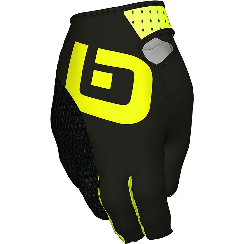 Ale Fango Gloves - Black-fluro Yellow - M  Black-fluro Yellow