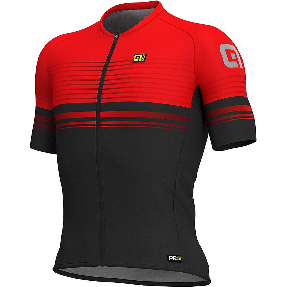 Alé Graphics PRR MC Slide Jersey - BLACK-RED - XXXL, BLACK-RED
