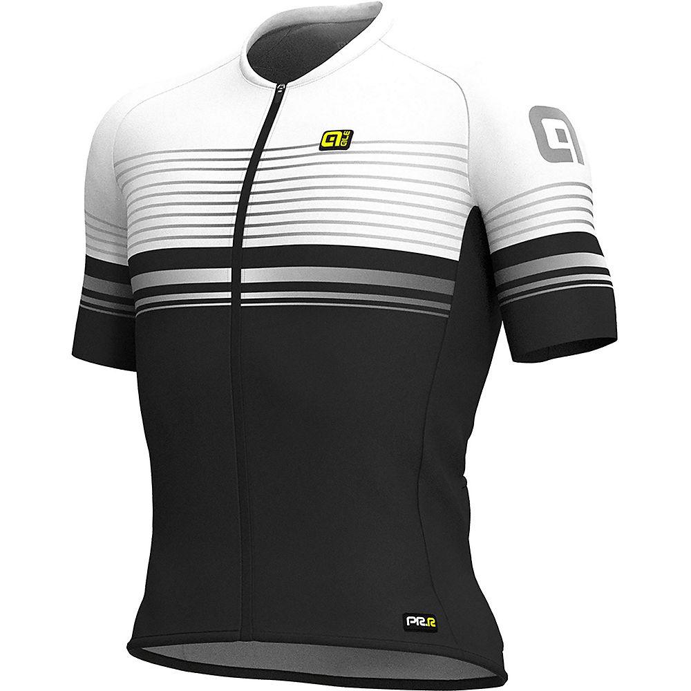 Alé Graphics PRR MC Slide Jersey - Black-White - XXXL, Black-White