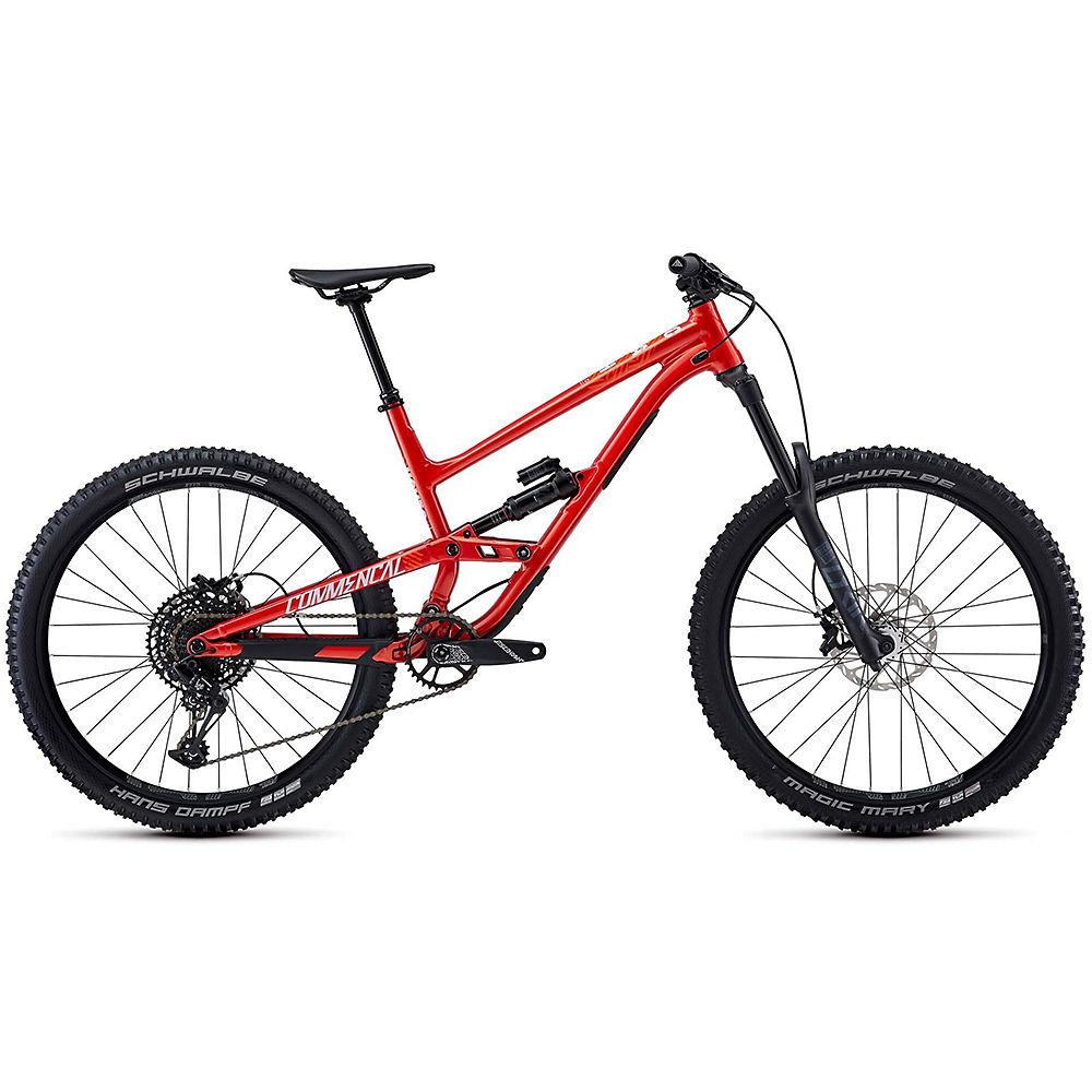 Commencal Clash Ride Suspension Bike 2020 - arancia