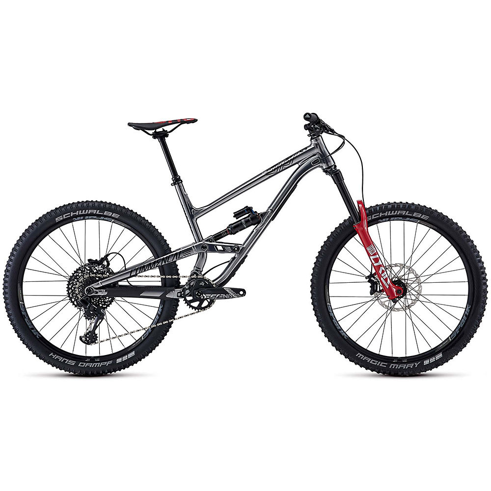 Commencal Clash Race Suspension Bike 2020 – Grey – Red, Grey – Red