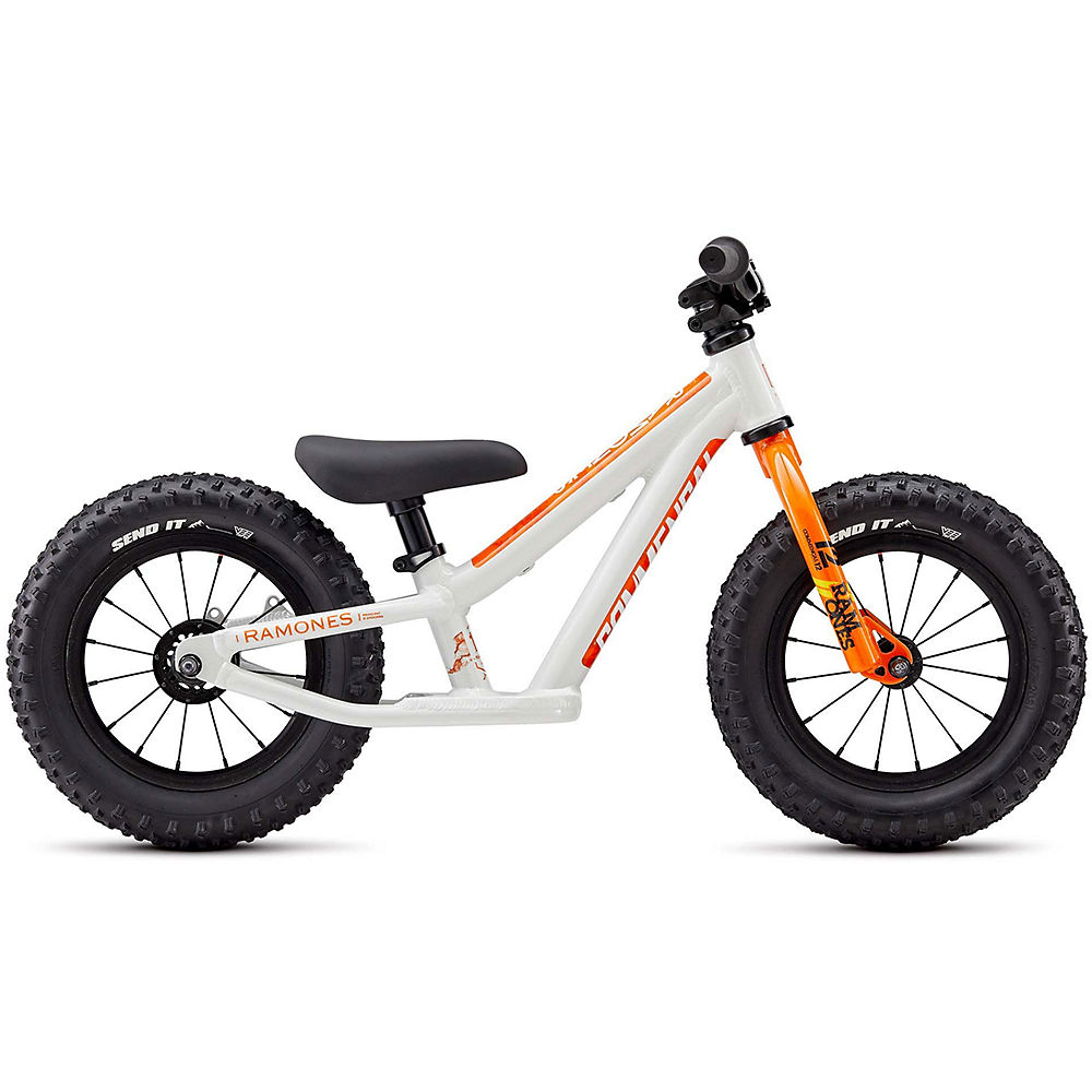 "Image of Commencal Ramones 12 Push Bike 2020 - Blanc - Orange - 12"", Blanc - Orange"