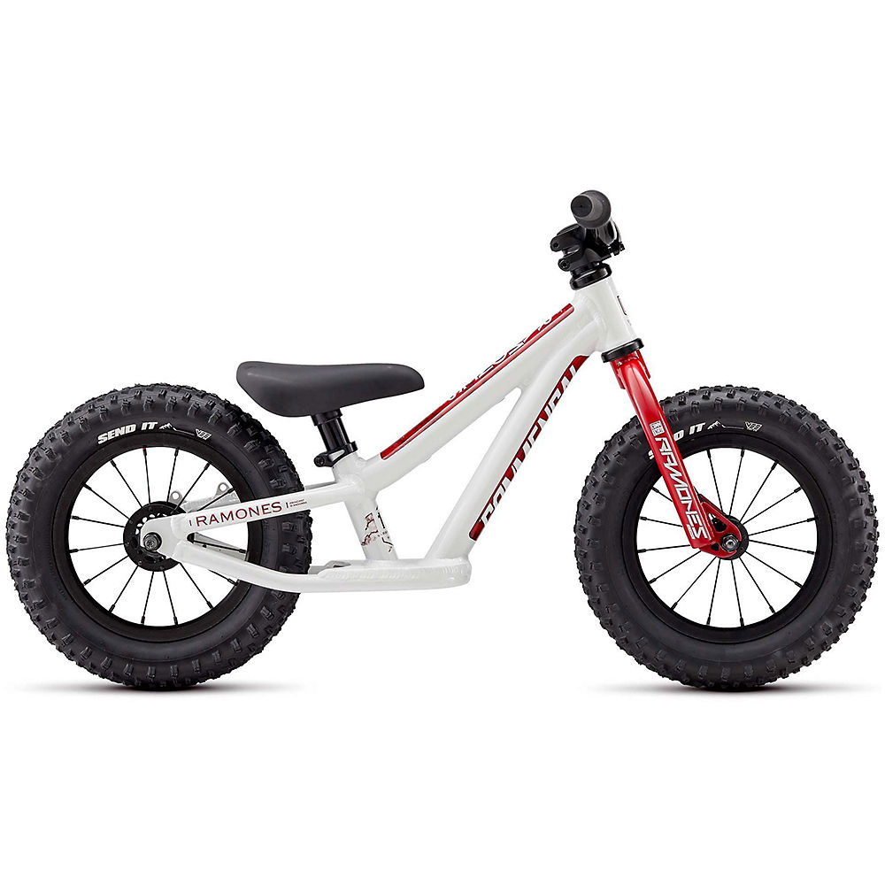 "Image of Commencal Ramones 12 Push Bike 2020 - Blanc - Rouge - 12"", Blanc - Rouge"