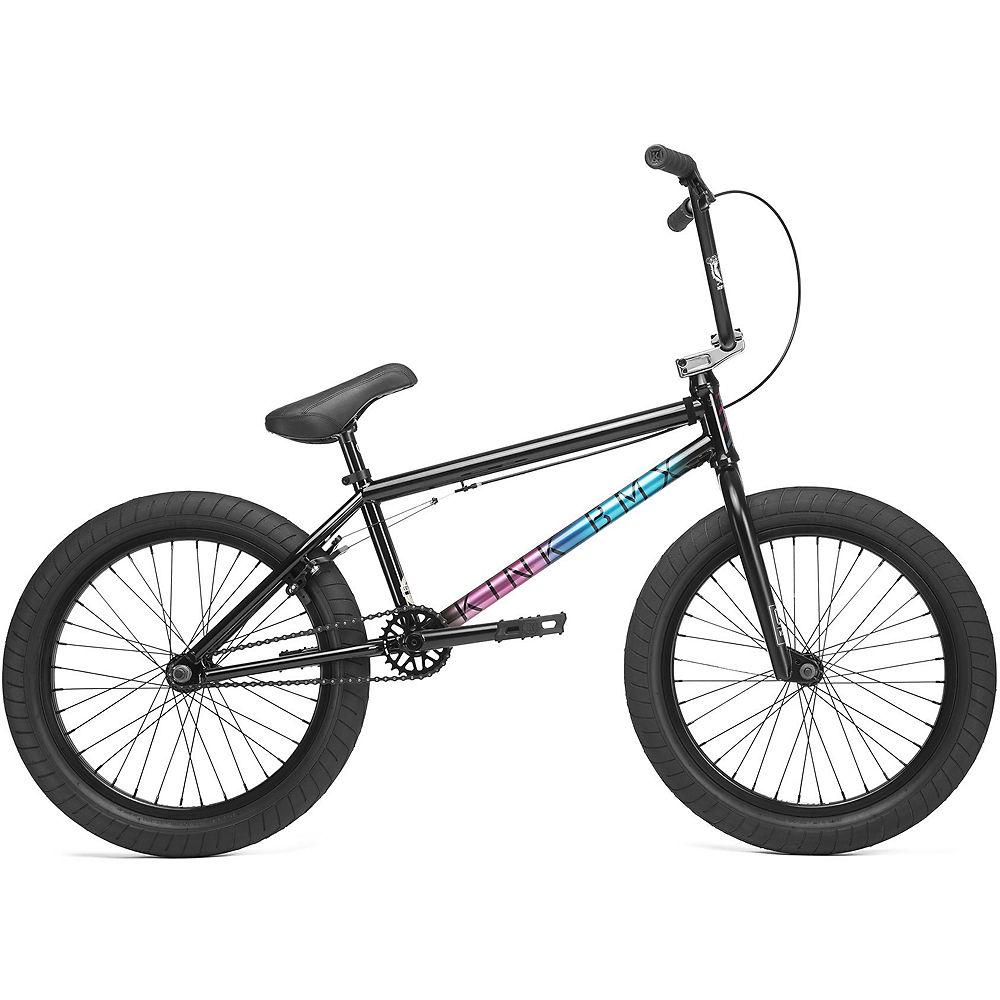 Kink Whip BMX Bike 2020 - Gloss Black Fade - 20.5