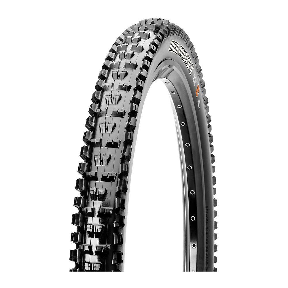 Maxxis High Roller II MTB Tyre (3C-TR-DD) - Black - Folding Bead, Black