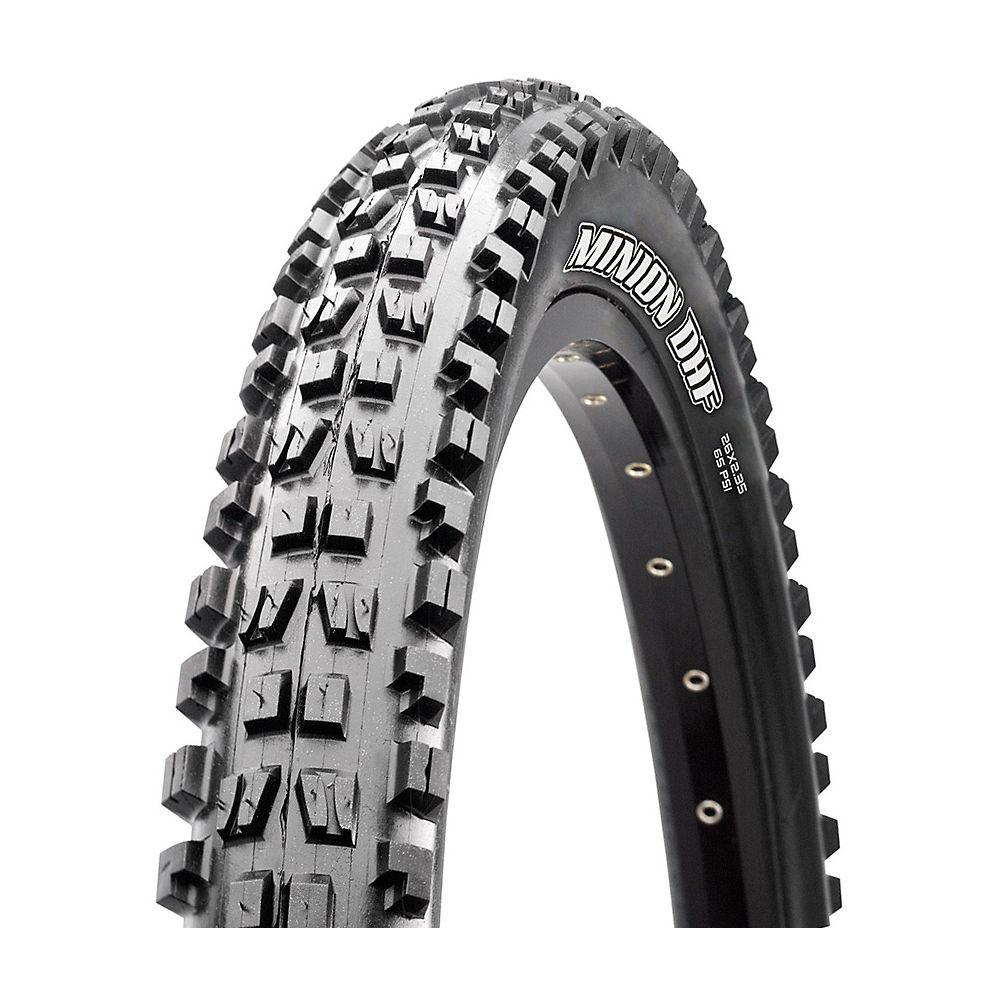 Maxxis Minion DHF MTB Tyre (3C-EXO+TR) - Black - Folding Bead, Black