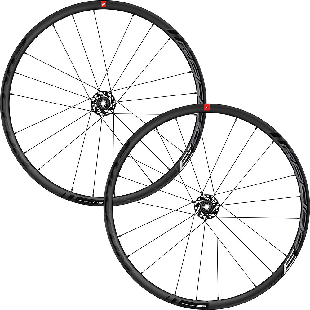 Image of Fulcrum Racing 3 Disc Brake Wheelset - Noir - Shimano, Noir