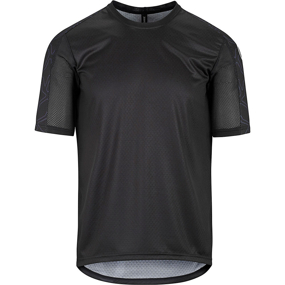 Assos Short Sleeve Trail Jersey  – Black Series – XS, Black Series