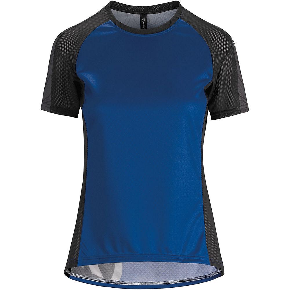 Assos Womens Short Sleeve Trail Jersey - Twilight Blue - Xs  Twilight Blue