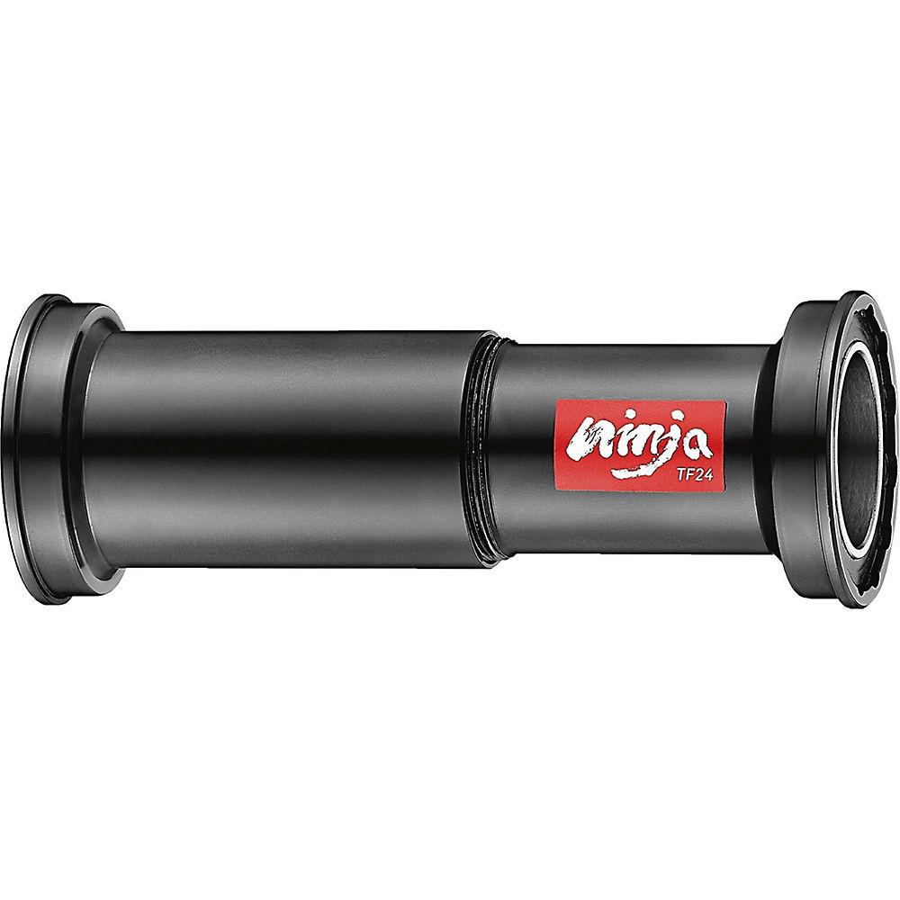 Token Ninja Trek BB90-BB95 Bottom Bracket - Black - 31.7 - 37.2 24mm Spindle, Black
