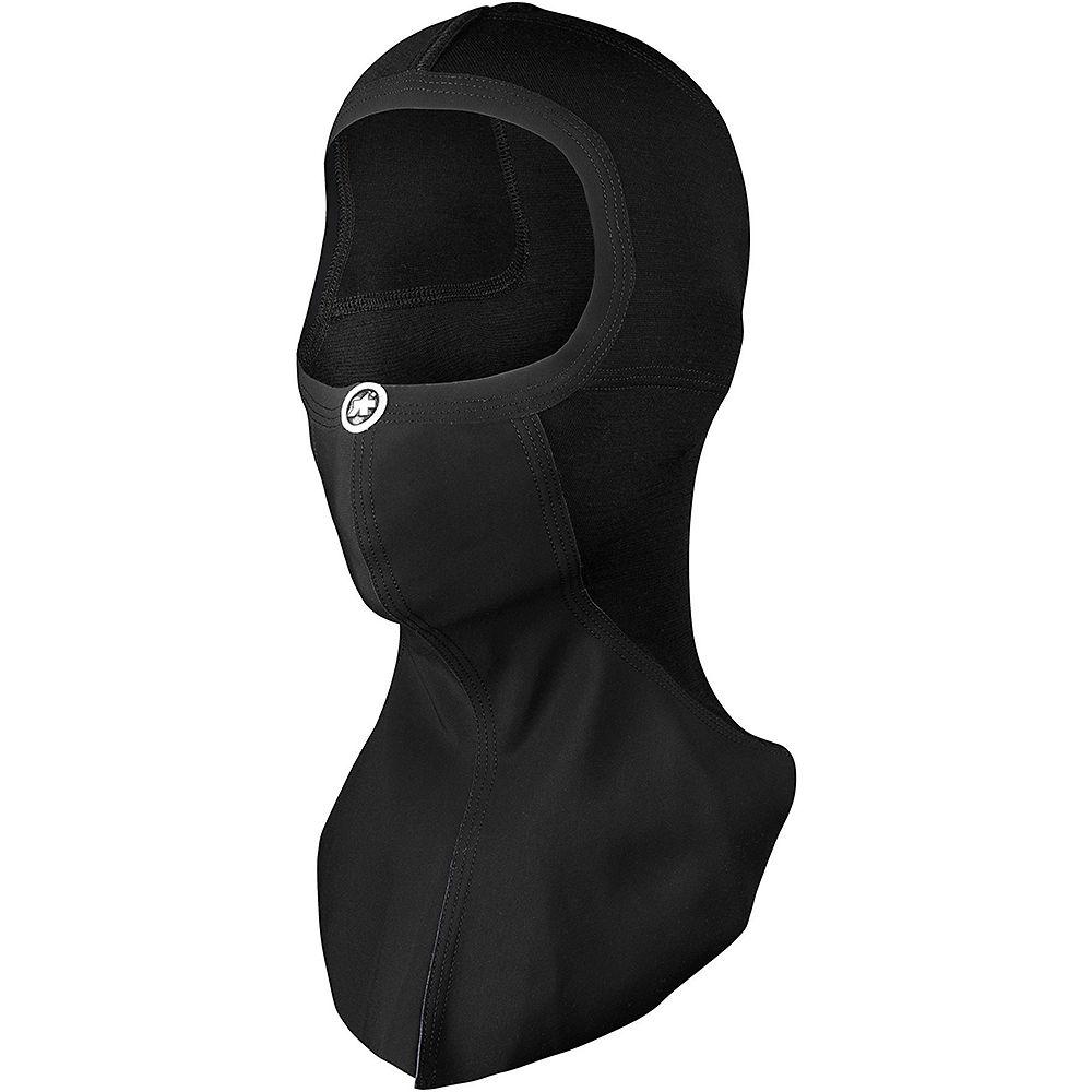 Image of Assos Assosoires Face Mask Winter - Black Series - M/L, Black Series