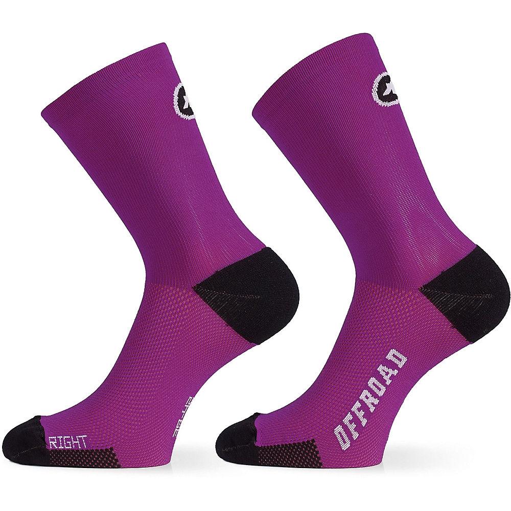 Assos Xc Socks - Cactus Purple - M/l  Cactus Purple