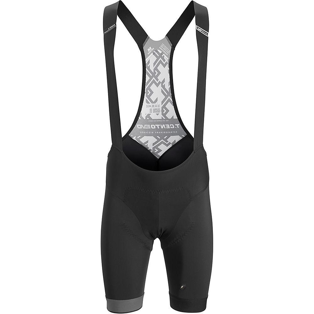 Assos Cento Evo Bib Shorts - Black Series - XL, Black Series