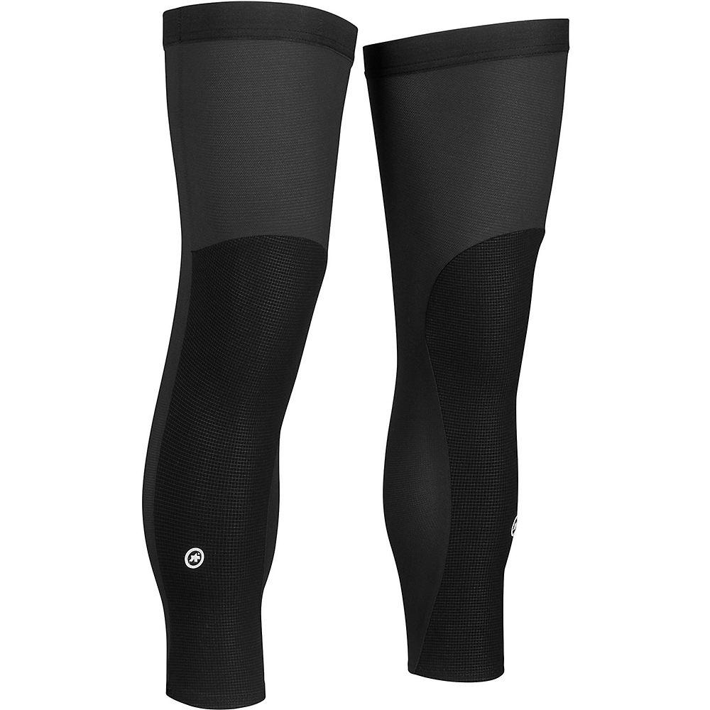 Assos Trail Knee Protectors - Black Series - S/M, Black Series