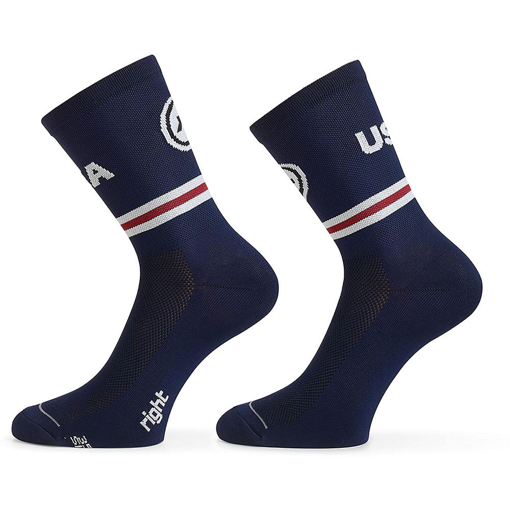 Dhb Blok Sock - Palm (blue) Aw18