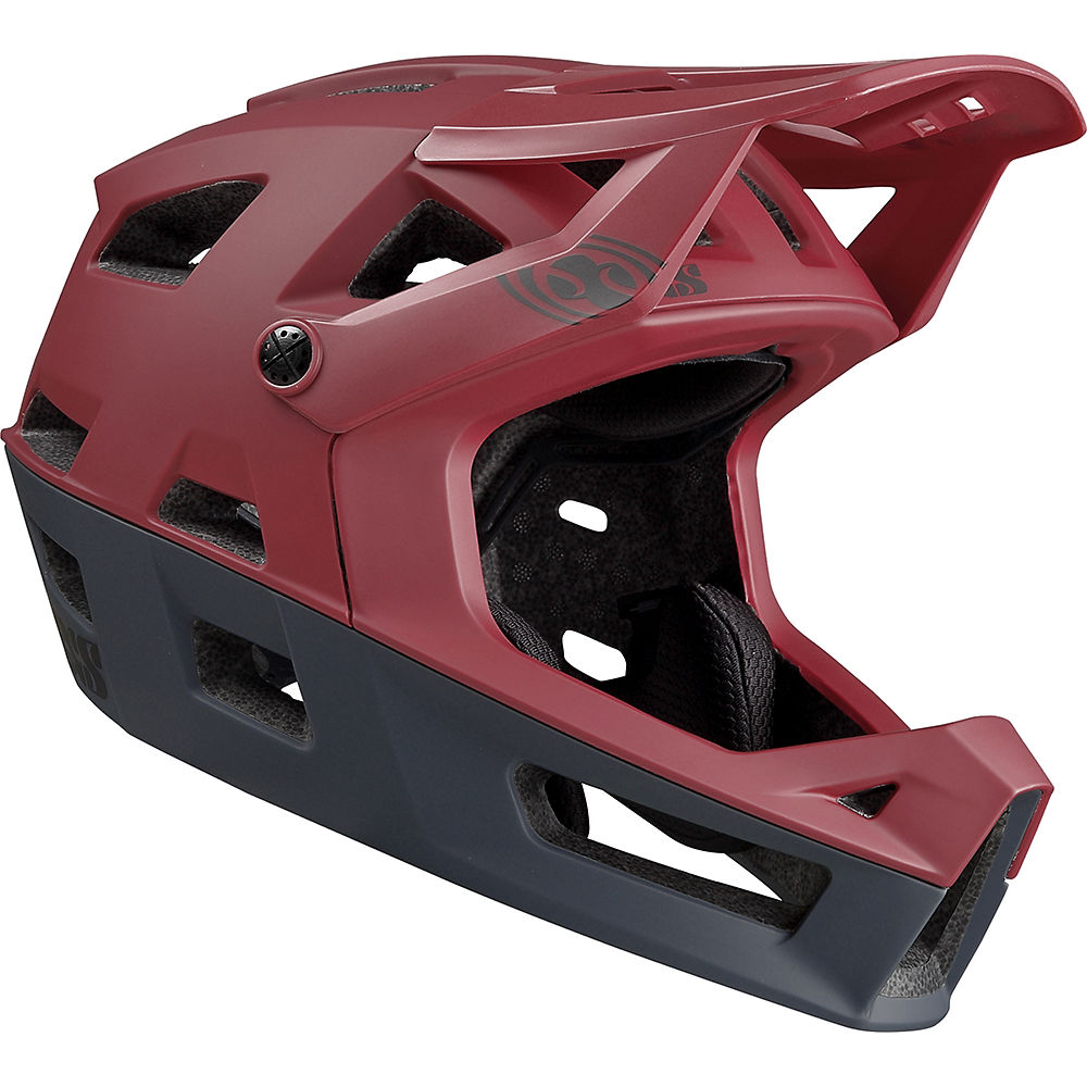 IXS Trigger FF Helmet 2019 - Night Red - S/M, Night Red