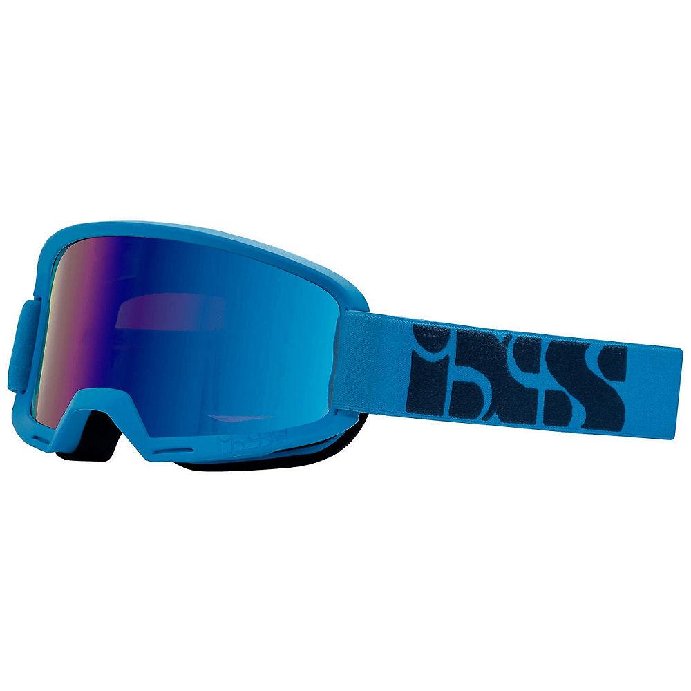 IXS Hack Goggle - Racing Blue- Mirror Cobalt, Racing Blue- Mirror Cobalt