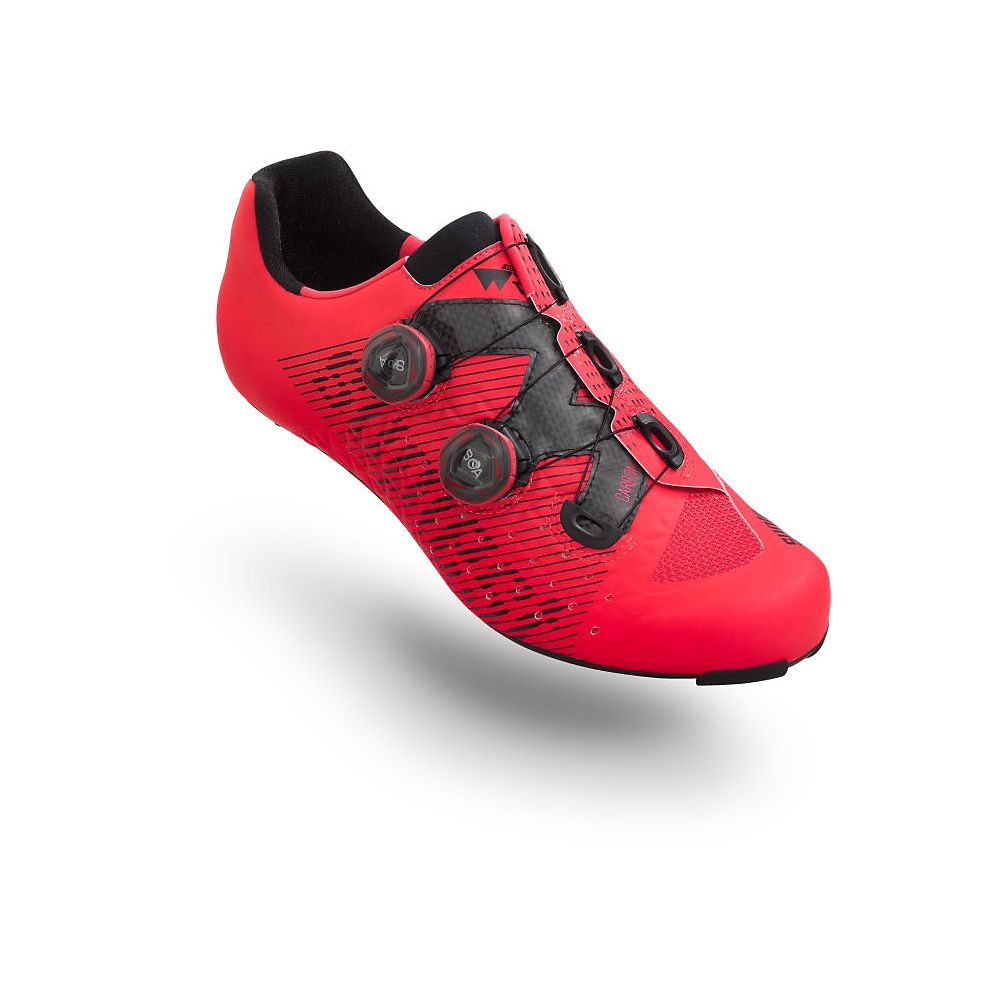 Image of Suplest Edge3 Double BOA IP1 Road Shoe - Rouge néon - EU 47, Rouge néon