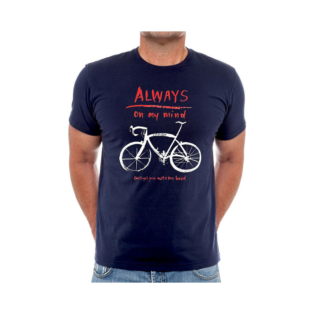 Image of Cycology Always On My Mind T-Shirt - Marine, Marine