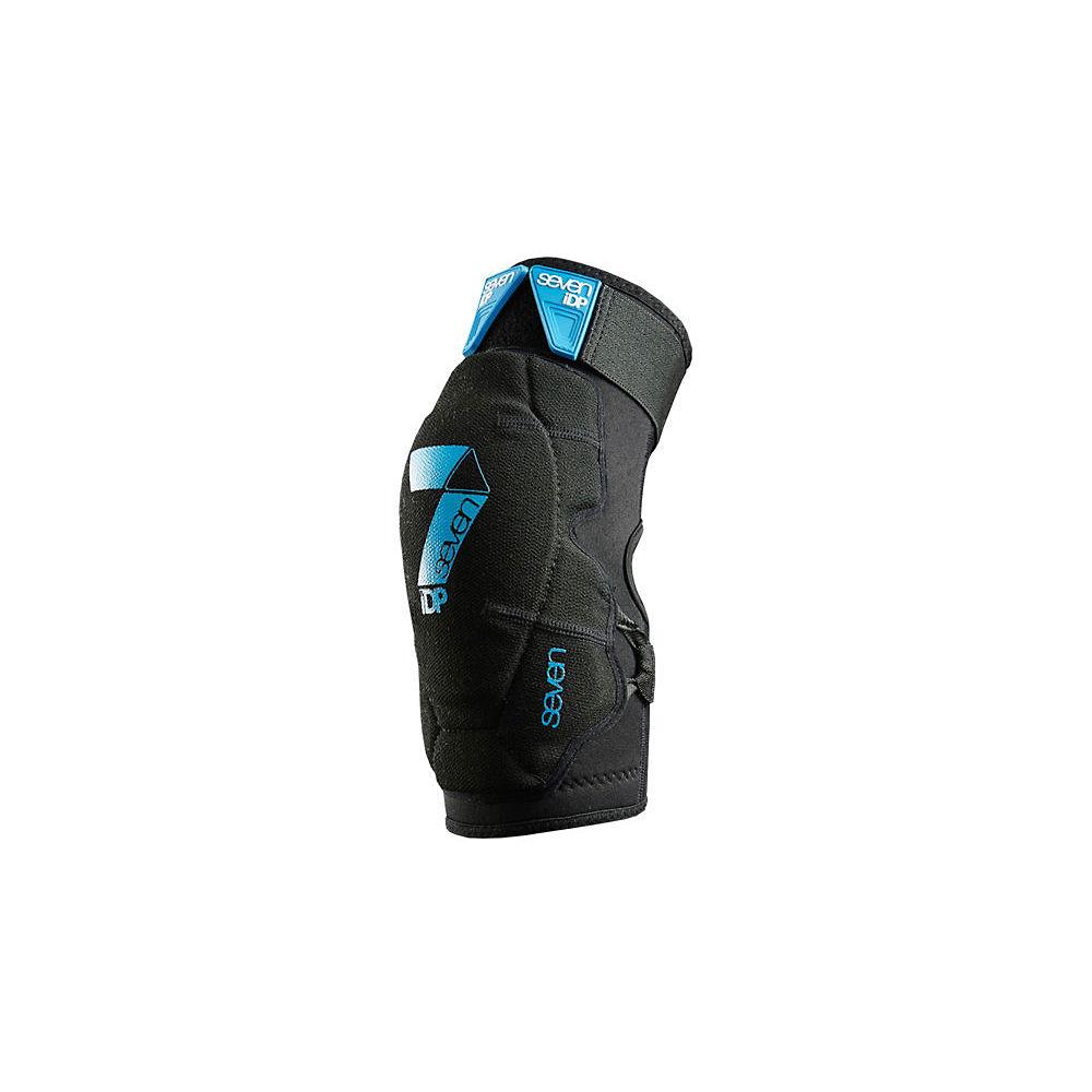 7 iDP Flex Elbow Pads - Black, Black