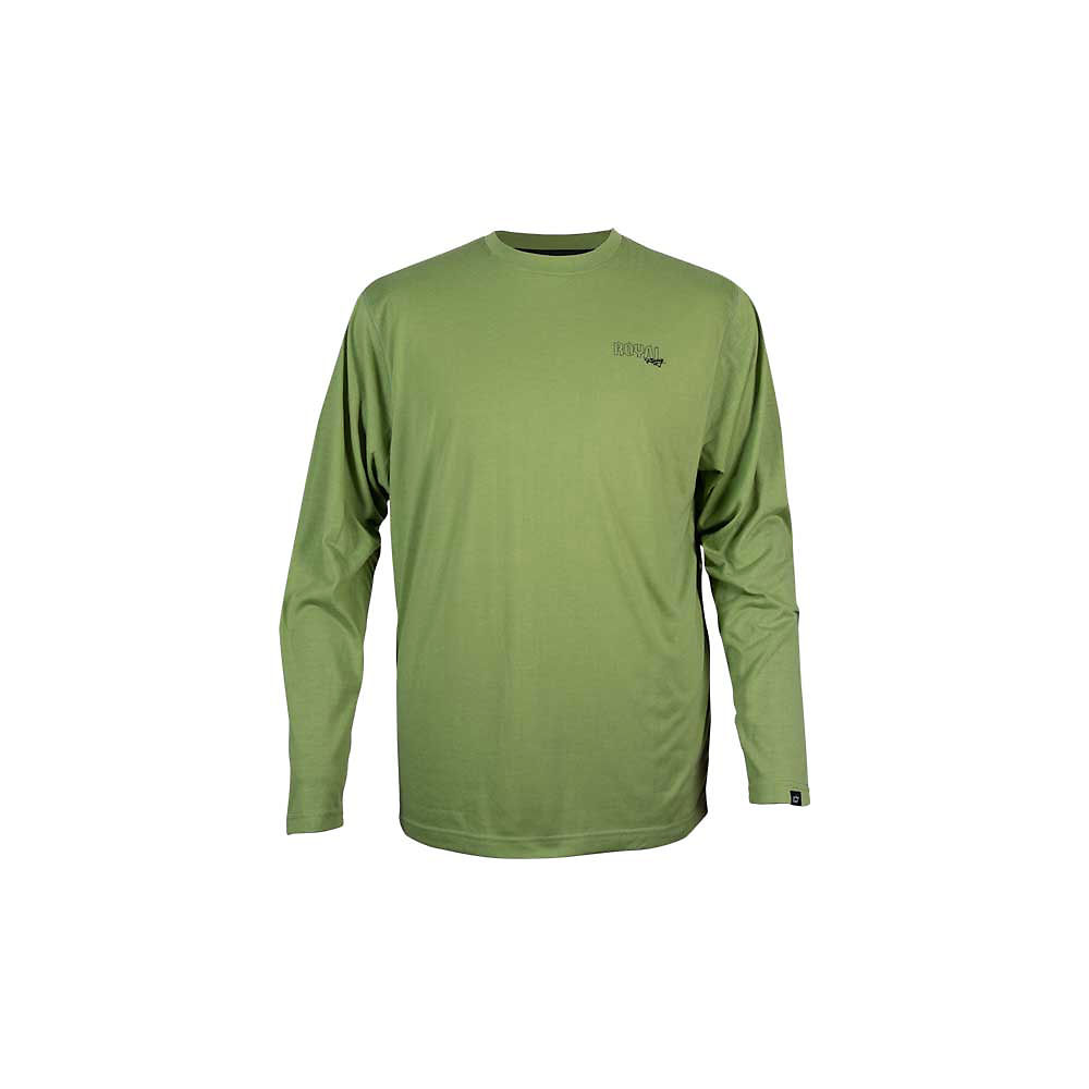 Image of Maillot Royal Core (manches longues) - Olive verte, Olive verte