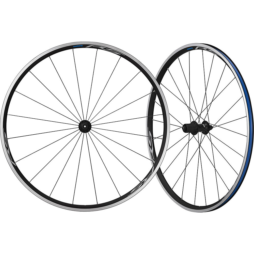Shimano Rs100 Road Clincher Wheelset - Black - 700c  Black