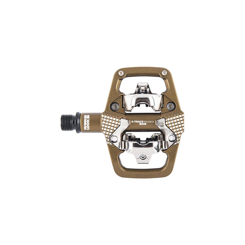 Look X-Track En-Rage Plus MTB Pedals - Bronze, Bronze