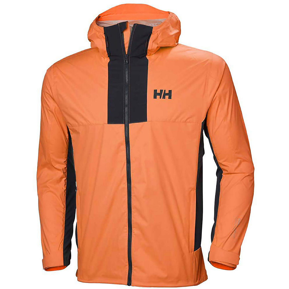 helly hansen vanir logr jacket  - blaze orange