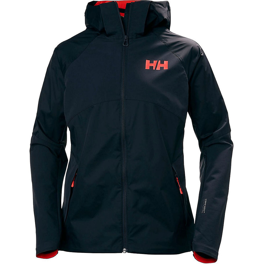 helly hansen womens vanir heta jacket  - graphite blue