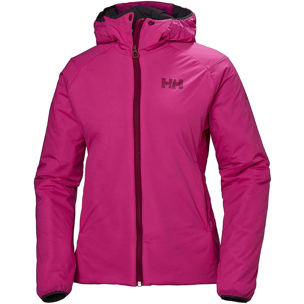 helly hansen womens odin stretch insulated jacket  - dragon fruit