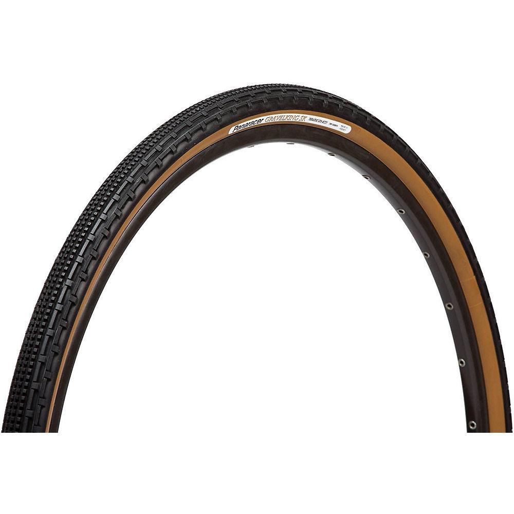 """Image of Panaracer Gravel King SK Folding Tyre - Black Tan - 26"""", Black Tan"""