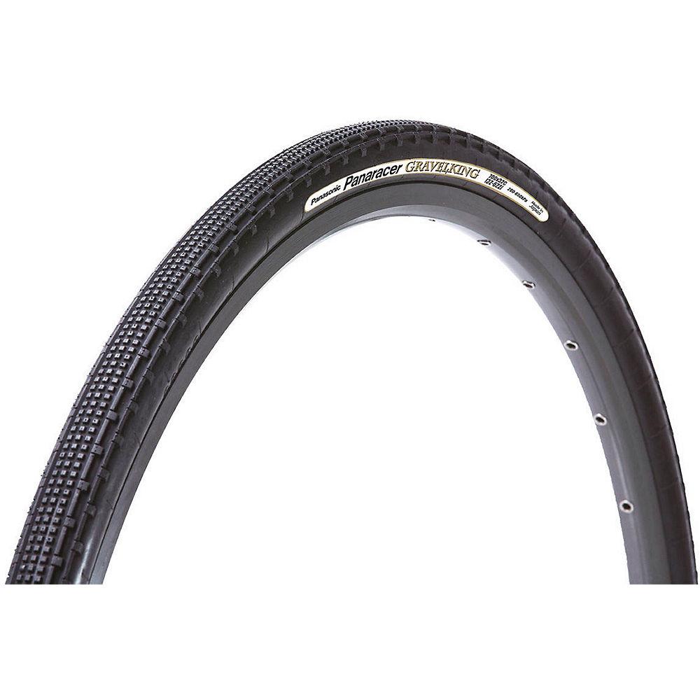 Image of Panaracer Gravel King SK Folding Tyre - Black-Black - 700c, Black-Black