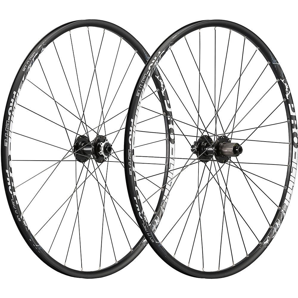 Image of Pro-Lite Goro GX Gravel Wheelset 2019 - Noir - blanc - Shimano/Sram, Noir - blanc
