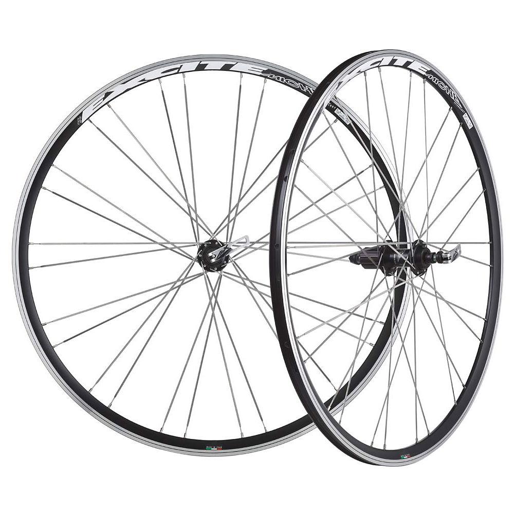 Miche Excite Clincher Wheelset – Black – Shimano, Black