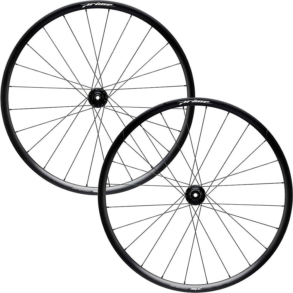 Prime Stagiaire Disc Alloy Wheelset – Black – 700c, Black