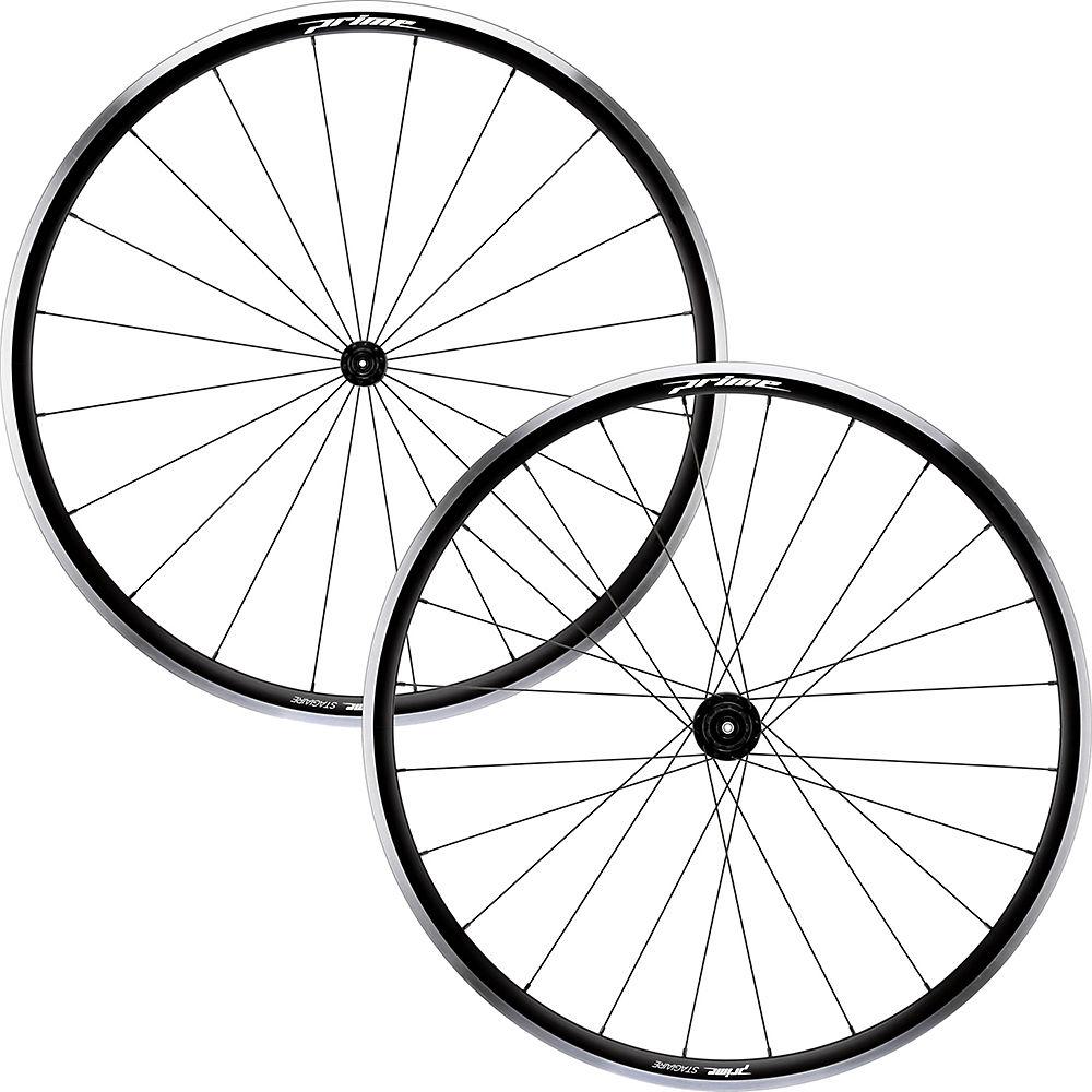Prime Stagiaire Alloy Wheelset – Black – 700c, Black