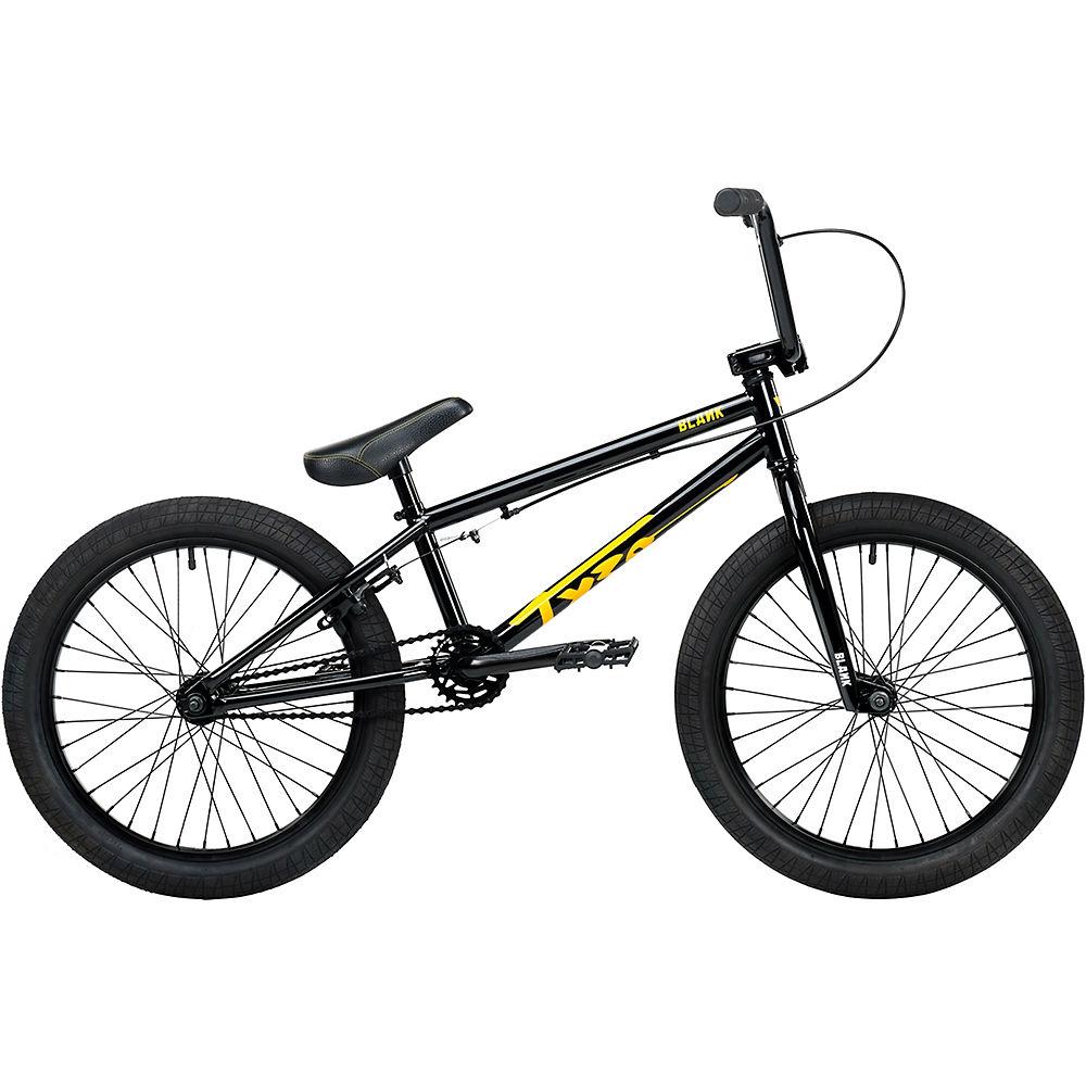 Blank Tyro Jr 20″ BMX Bike 2020 – Black – 18.5″ TT, Black