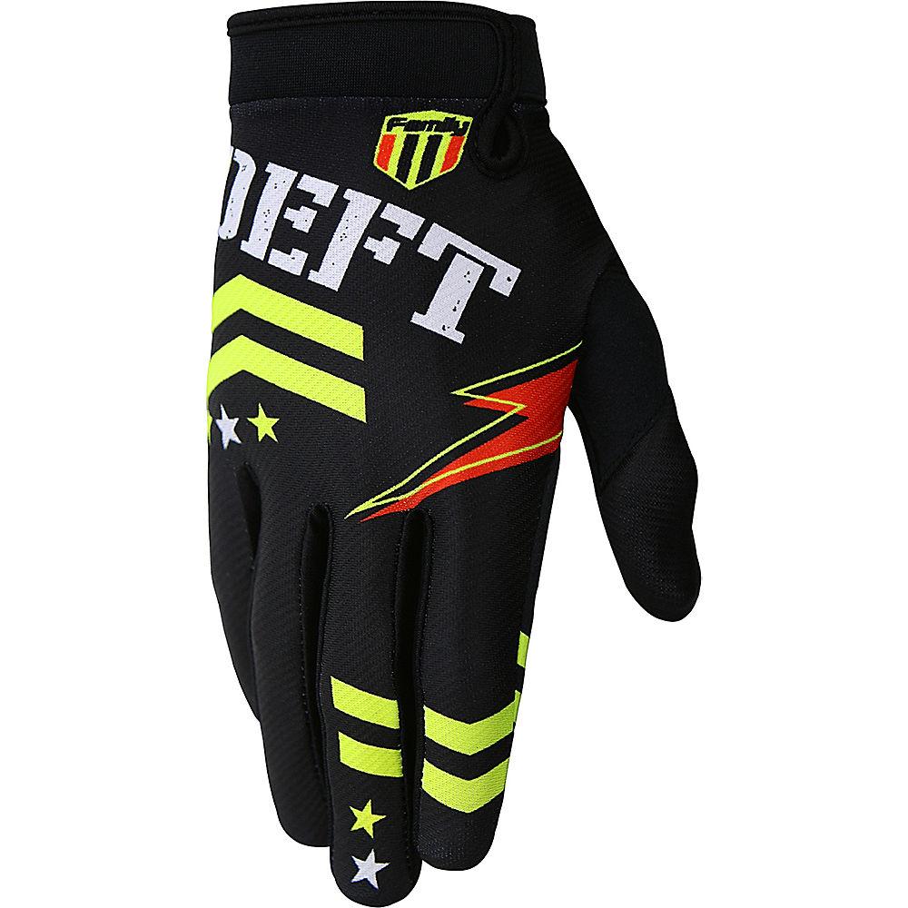 Image of deft family Eqvlnt Badge Gloves 2019 - Noir, Noir