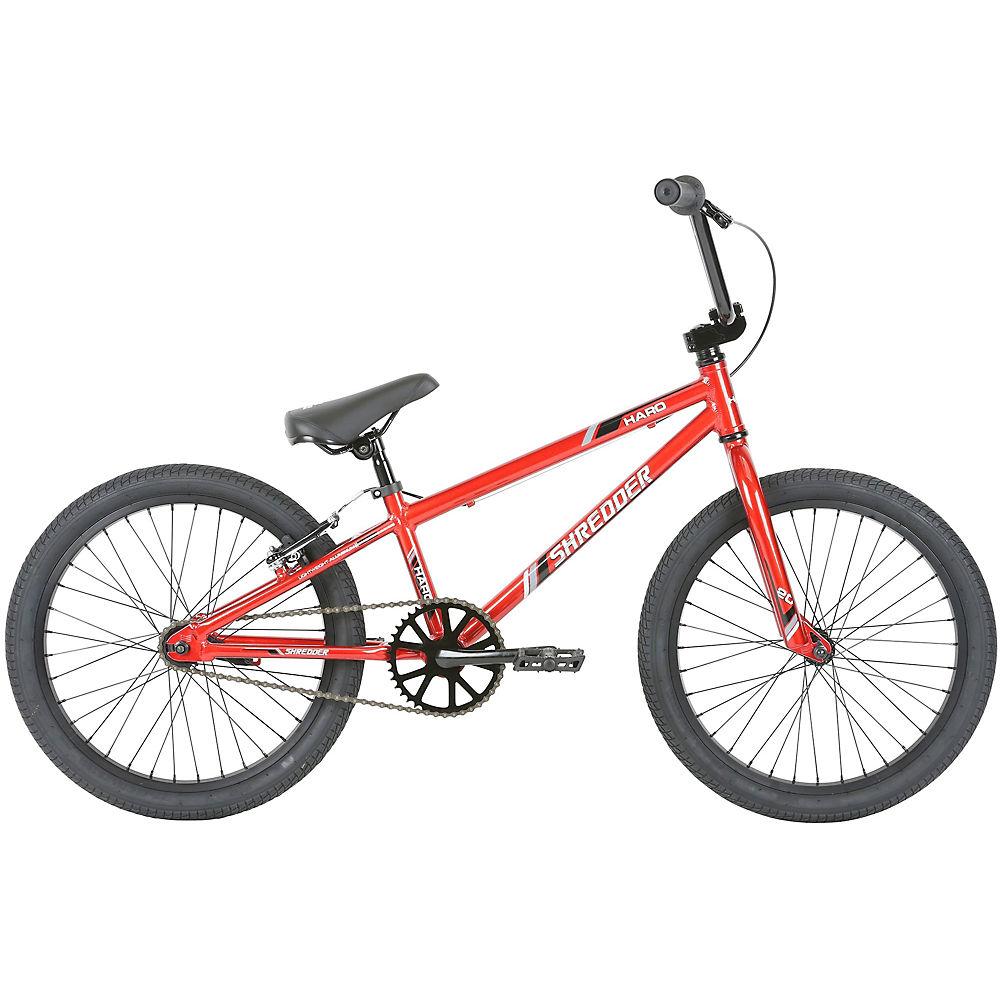 Haro Shredder BMX Bike 2019 – Gloss Ruby Red – 20″, Gloss Ruby Red