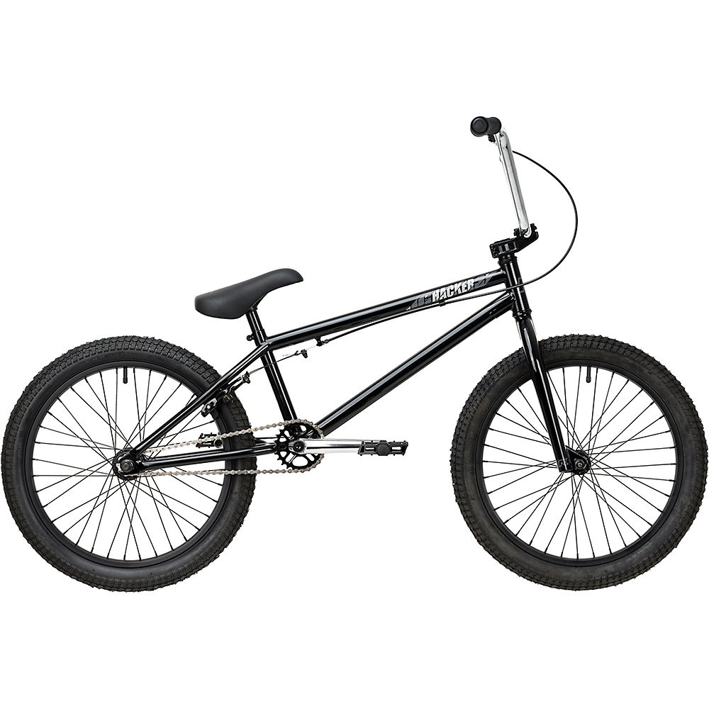 Ruption Hacker BMX Bike 2020 – Black – 20.5″ TT, Black