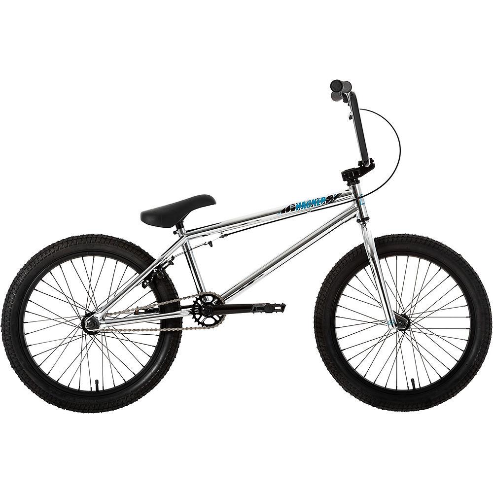 Ruption Hacker BMX Bike 2020 – Silver – 20.5″ TT, Silver