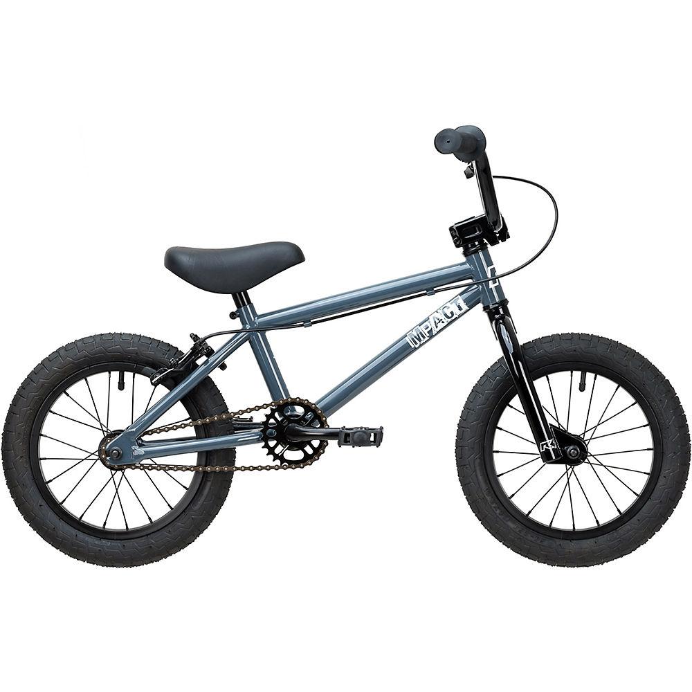 Ruption Impact 14″ BMX Bike 2020 – Gloss Charcoal – 14.1″ TT, Gloss Charcoal