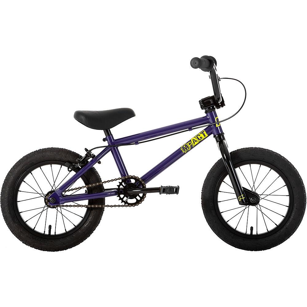 Ruption Impact 14″ BMX Bike 2020 – Purple – 14.1″ TT, Purple