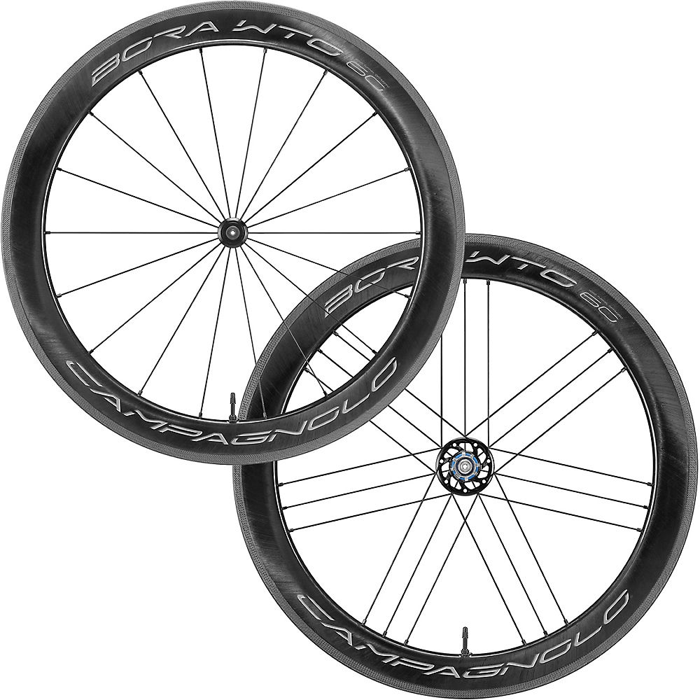 Campagnolo Bora WTO 60 Wheelset - Bright Label - Shimano, Bright Label